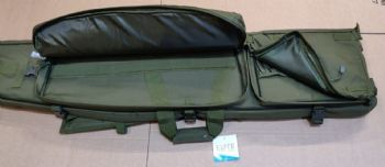 Elite Essentials Tactical 50'' Sniper Drag Bag Prone Mat Olive Green Cordura